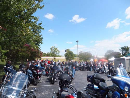 2012 911 Remembrance Ride Knoxville, TN